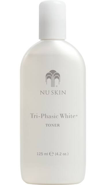 TRI PHASIC WHITE TONER NU SKIN